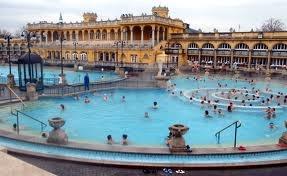 Budapest Thermal Bath, Budapest, Hungary