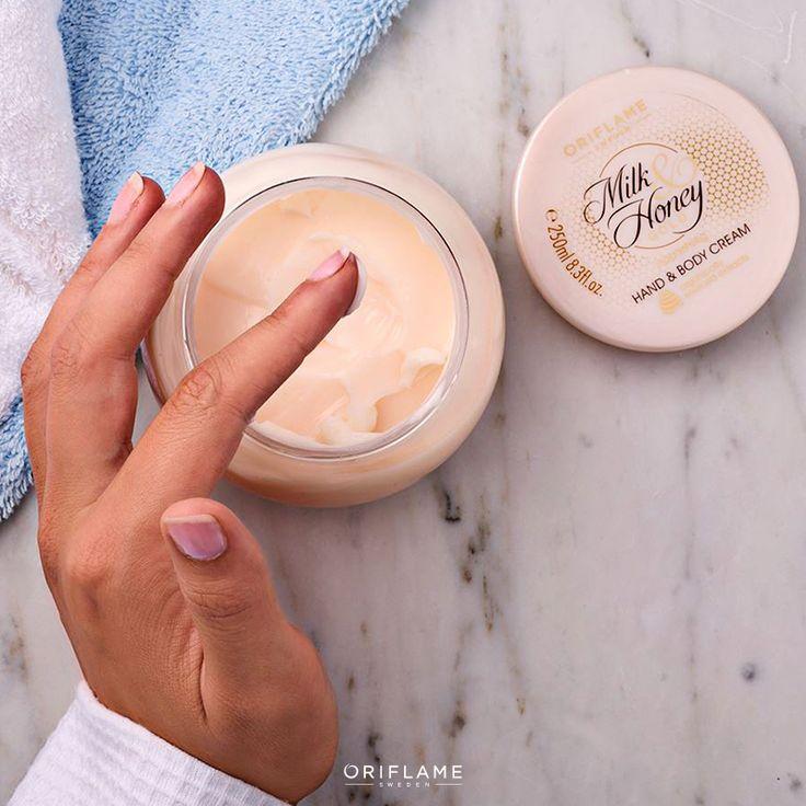 Mantén tu piel hidratada 24/7 con extractos orgánicos y naturales de leche y miel