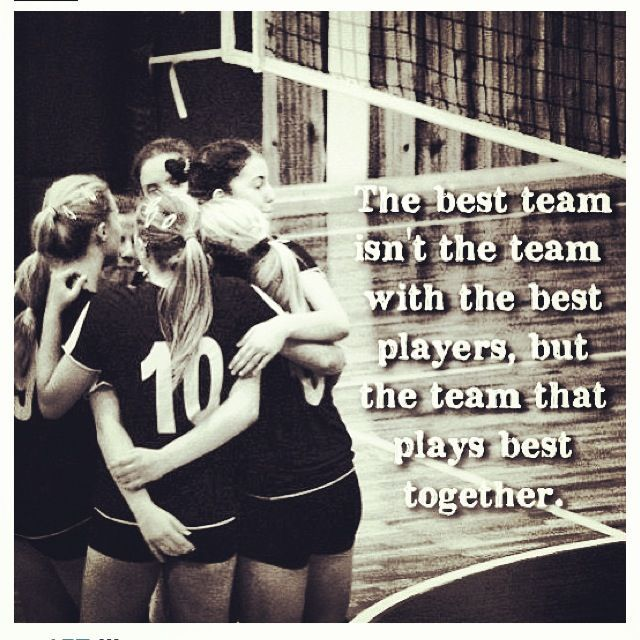 Motivational Quotes For Sports Teams: Volleyball Team Quotes - Google Search