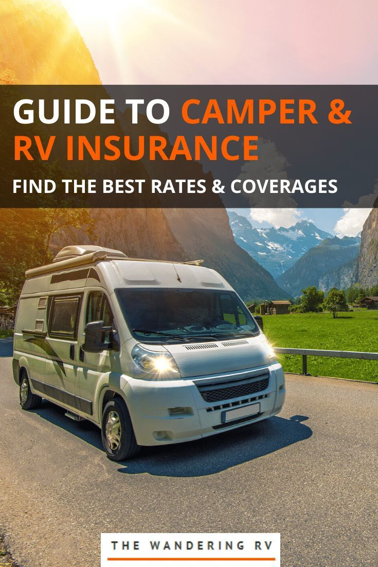 Types Of Camper Insurance Coverages Costs More In 2020 Rv
