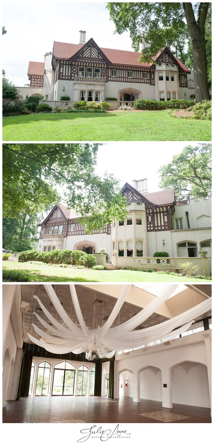 Callanwolde Fine Art Center - Atlanta Wedding Venue #callanwolde #julieannephoto  www.julieannephoto.com