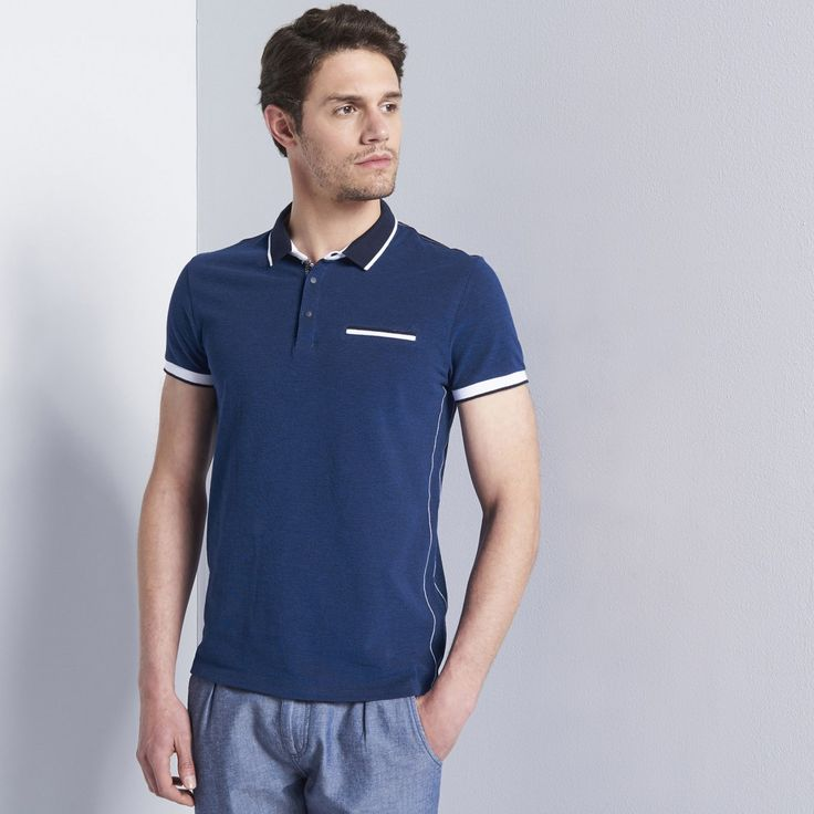 Polo manches courtes homme casual - image 1