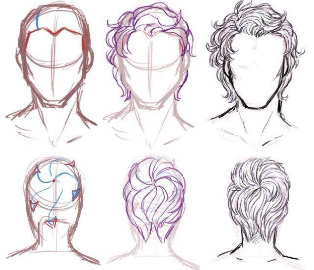 Pin By Millanivan On Drawing Tips And Help Short Hair Drawing Guy Drawing Hair Sketch