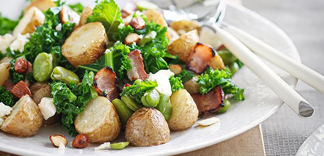 Potato, broad bean and bacon salad recipe - Editor's picks - Recipes - New Zealand Woman's Weekly