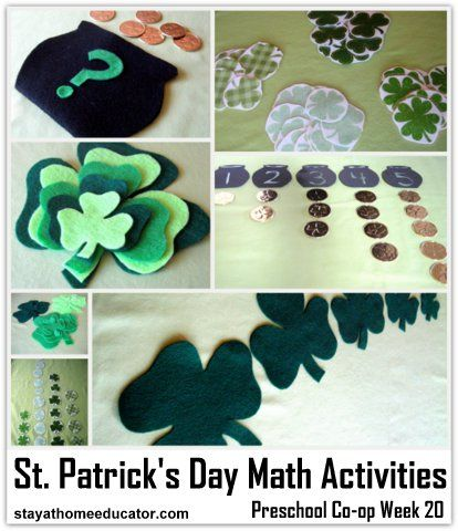 Easy St. Patrick's Day Math Activities
