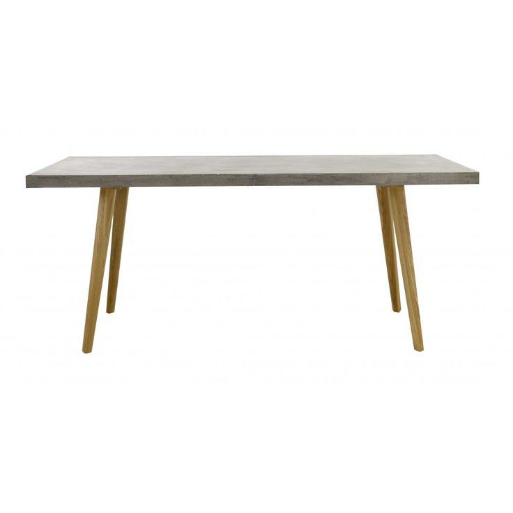 Les 25 meilleures id es de la cat gorie table beton cire for Table exterieur imitation beton