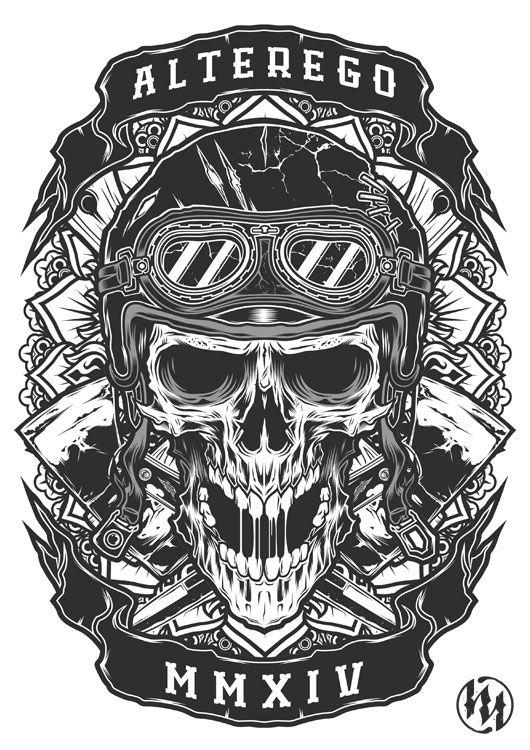 T shirt design | skull bone | Shirt designs, Screen ...