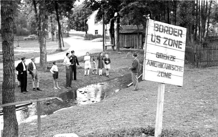 Grenze in Mödlareuth 1949