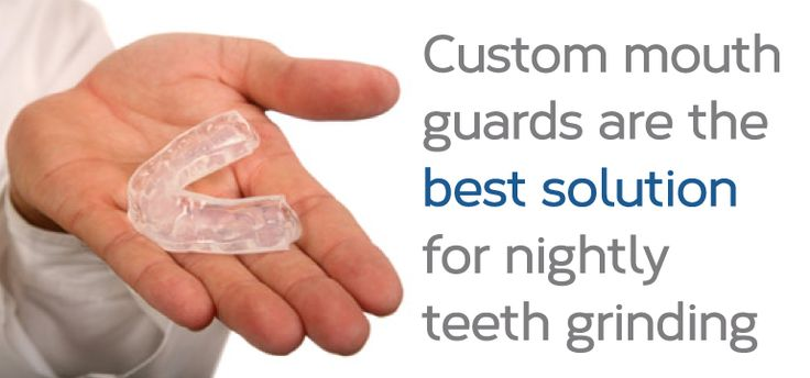 how custom mouth guards can help you stop grinding your teeth at night