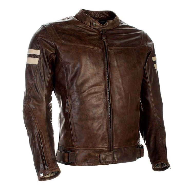 Richa Hawker Leather Jacket - Cognac