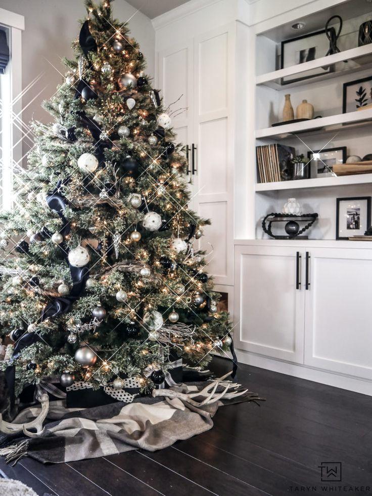 Rustic Modern Christmas Tree Taryn Whiteaker In 2020