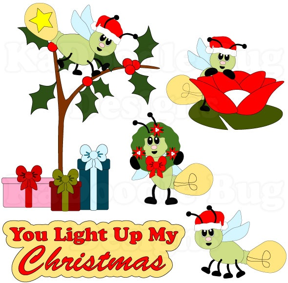 You Light Up My Christmas  www.kadoodlebugdesigns.com