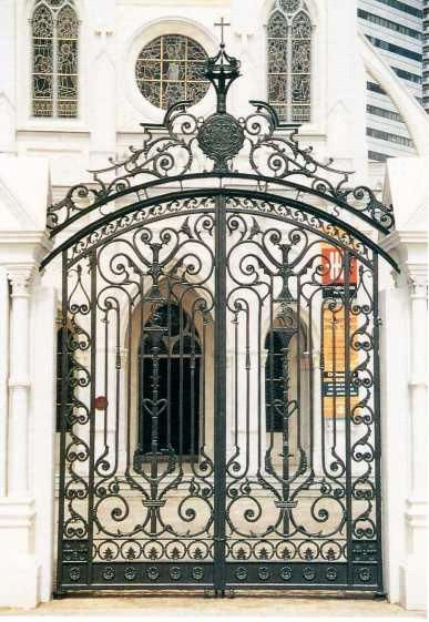 Decorative Wrought Iron Gate Gates Pinterest Iron