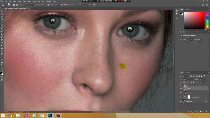 Portrait Skin Retouch by Atharia
