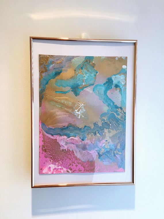 Original Abstract Painting 'A Dream Within A Dream'