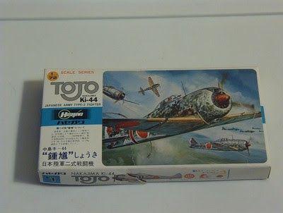 A Junkee Shoppe Junk Market Stop: TOJO ki-44 Japanese Military Airplane Model Kit ... For Sale Click Link Here To View >>>> http://ajunkeeshoppe.blogspot.com/2015/12/tojo-ki-44-japanese-military-airplane.html