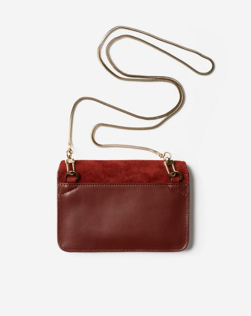 Tyra Purse Dark Red Rust - Bags & Wallets - Shop Woman - Filippa K