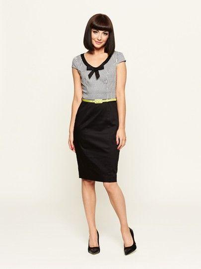 The Mon Amie Check Dress