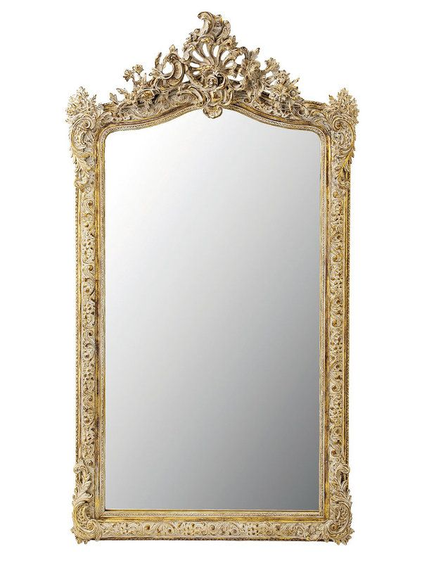 Espejo vintage marco resina dorado 600 800 for Espejo marco dorado
