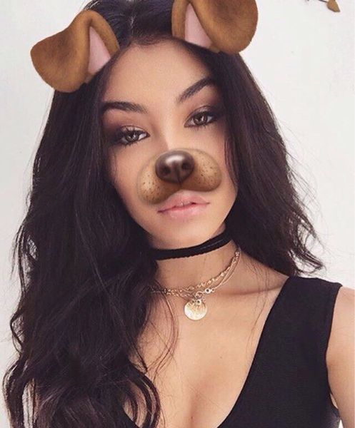 "Madison Beer ] ""Hey, the names Madison. I'm as cold as ice. My snapchat is @whosmb. Go follow me."" I roll my eyes. ""I really want to get into jack gilinsky's heart so if you see him send him my way."""