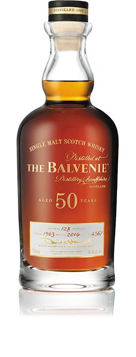 Filled with newly distilled spirit in 1963, The Balvenie Fifty, Cask 4567 was matured in a European oak sherry hogshead cask, rarely used today in whisky making.