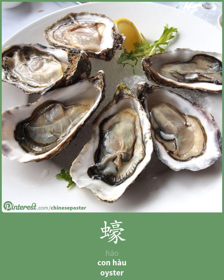 蠔 - Háo - con hàu - oyster