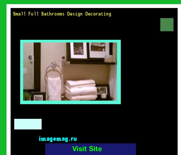 Small Full Bathrooms Design Decorating 135715 - The Best Image Search