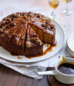 Mrkvový koláč s podmáslím a kořeněným karamelem Foto: Just Spice