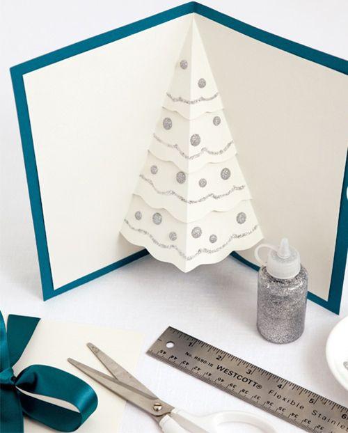 10+ DIY Christmas cards-  MoreDesignPlease