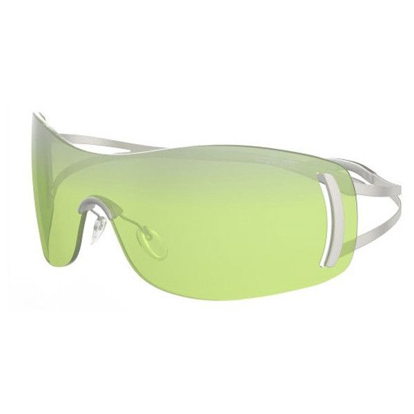 Silhouette 8127/S 6210 Sunglasses ($325) ❤ liked on Polyvore featuring accessories, eyewear, sunglasses, sage, unisex sunglasses, silhouette sunglasses, silhouette glasses, silhouette eyewear and lens glasses