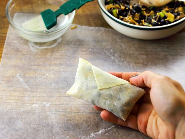 how to wrap egg rolls, quick easy and pretty good, every time.