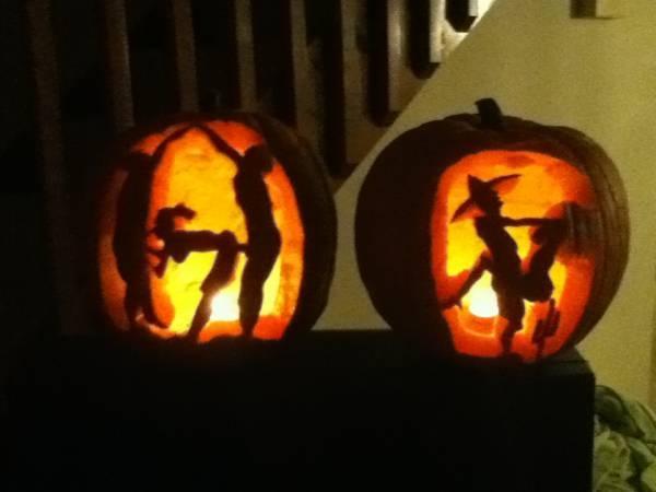 perverted halloween pumpkins - Halloween Stuff