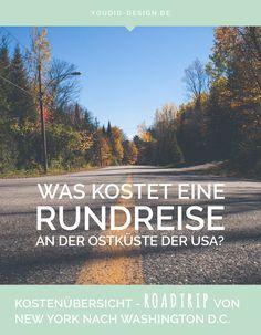 Was kostet eine Rundreise an der Ostküste der USA? Im Folgenden findest du eine genaue Kostenübersicht für einen 2-wöchigen Roadtrip durch die USA.