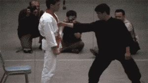 Bruce Lee's one-inch punch…amazing man