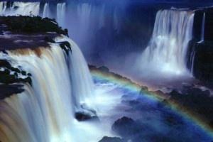 Breathtaking Iguazu FallsBrazil, Nature Wonder, Buckets Lists, Iguazu Fall, South America, Rainbows, Beautiful Places, Travel, Planets Earth