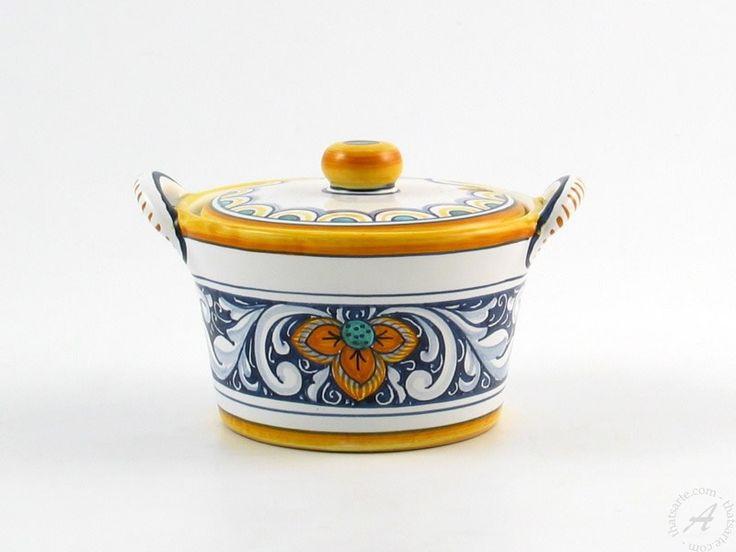 L'Antica Deruta - Rameggi - Cheese jar