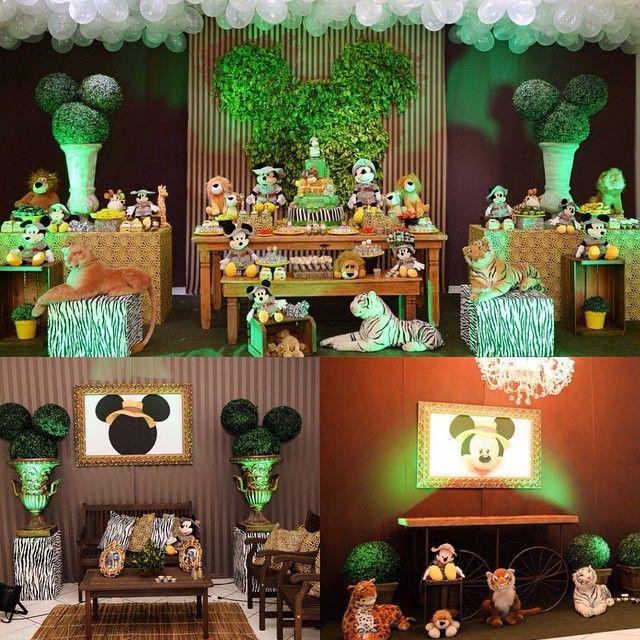 #mulpix Safari do Mickey!!! #Safari #Mickey #safaridomickey #mickeynosafari #festamenino #festainfantil Mamãe: @laizafernanda