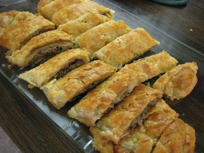 Irene's Mushroom Strudel | The Blog That Ate Manhattan - you can freeze before baking!