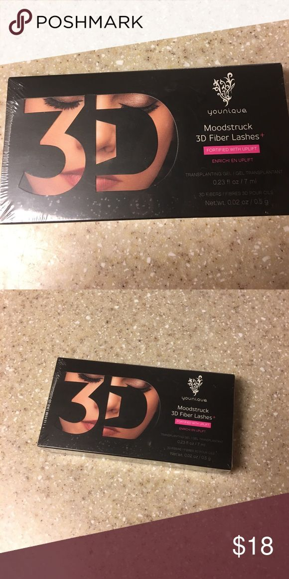 Younique 3D Fiber Lash Mascara! New in packaging. If you haven't tried this mascara kit, now is your chance. Makes lashes so much longer than regular mascara! Makeup Mascara