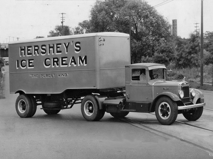 Old Hershey's® Ice Cream route truck