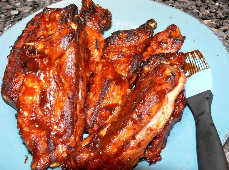 Country Style Pork Ribs - uses bone in or boneless. I have some smaller boneless ones, will try a bit less time (maybe 45 min to start).