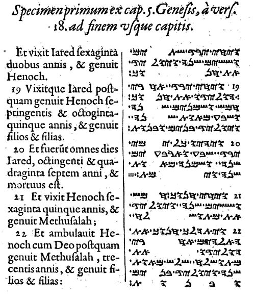 Manuscripts of the Samaritan Pentateuch are written in a different Hebrew script than is used in other Hebrew Pentateuchs. Samaritans employ the Samaritan alphabet which is derived from the Paleo-Hebrew alphabet used by the Israelite community prior to the Babylonian captivity. Afterwards, Jews adopted a script based on the Aramaic alphabet that developed into the Hebrew alphabet. Originally all manuscripts of the Samaritan Pentateuch consisted of unvocalized text written using only the…