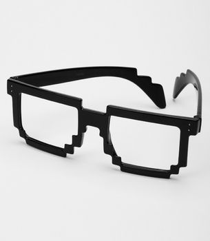 Pixel Glasses. :) Cool. Good boyfriend gifts - check out more at http://buyhimthat.com