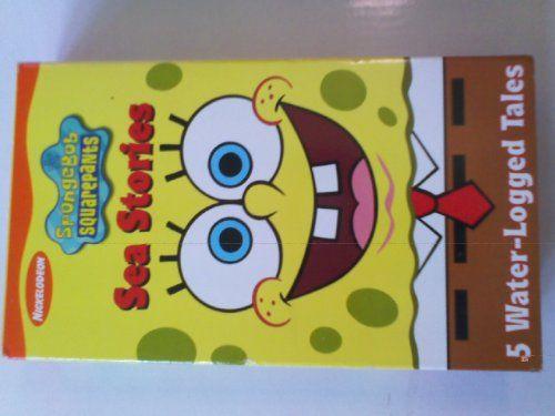 SpongeBob SquarePants - Sea Stories [VHS] @ niftywarehouse.com #NiftyWarehouse #Spongebob #SpongebobSquarepants #Cartoon #TV #Show
