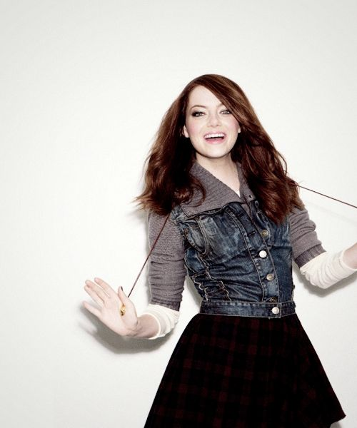 Emma Stone-totally have a girl crush on her
