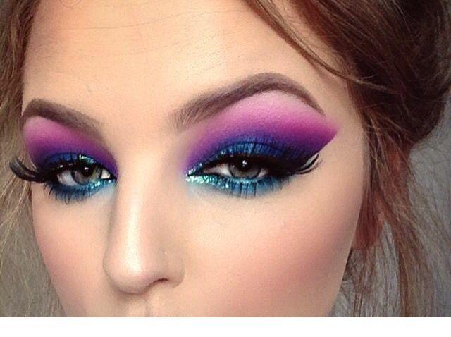 Fabulous 100 Makeup Looks That Will Turn Heads Easymakeup Makeup Makeupidea Makeups Prommakeu Blue Eye Makeup Eye Makeup Styles Blue Makeup