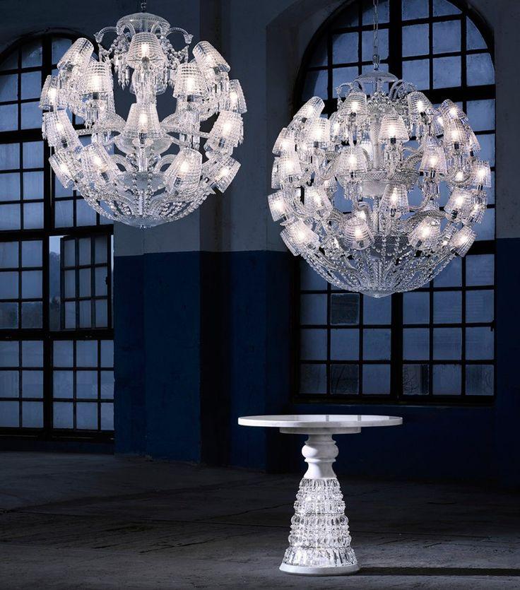 Marcel Wonders 'le roi soleil' chandelier for Baccarat pays tribute to the illustrious Monarch Louis XIV