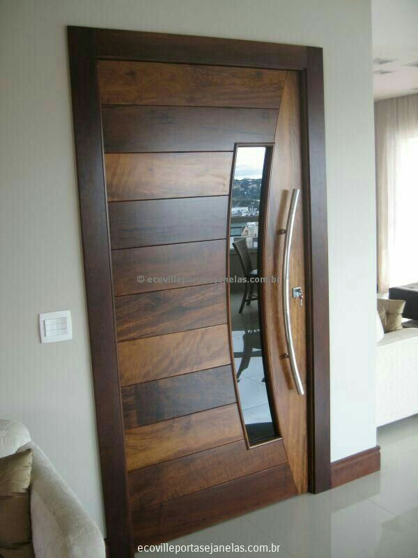 Single wooden door design wooden modern door designs single wooden - 25 Best Ideas About Main Gate Design On Pinterest Asian