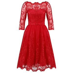 Chi Chi London AVIANA Sukienka koktajlowa red