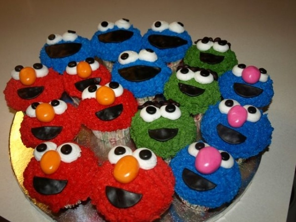 These look like the Sesame Street version of Muppet Babies. Very cute!